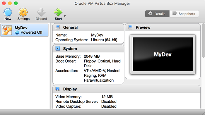 VirtualBox Home